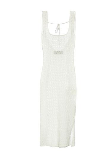 Women&Women Elbise Beyaz